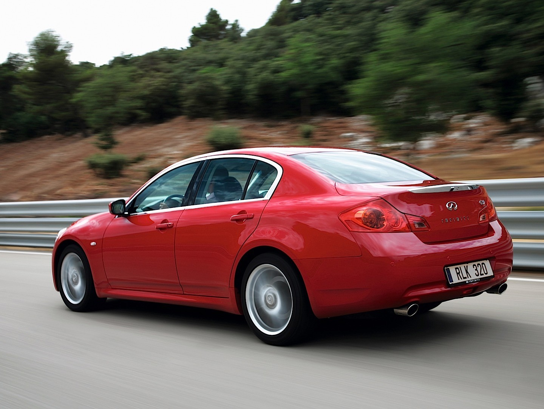 INFINITI G37 Sedan specs  2008 2009 2010 2011  autoevolution