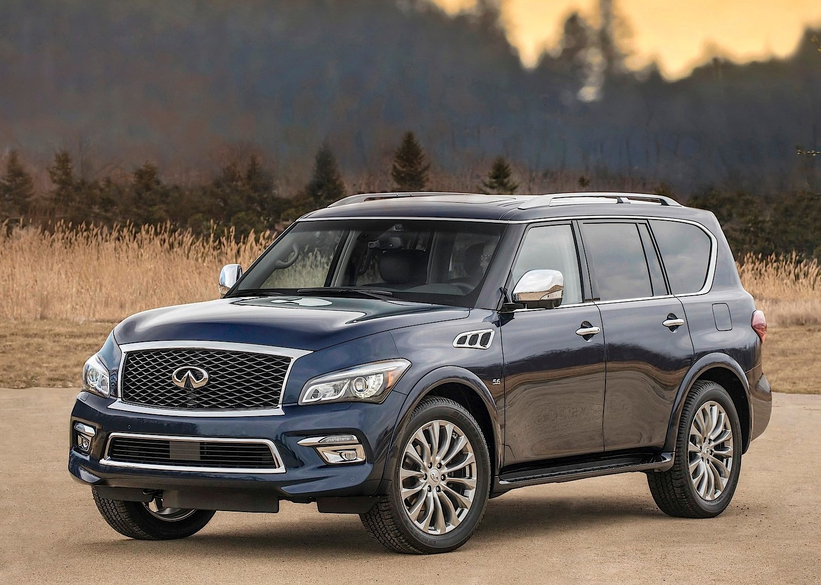 infiniti qx80 specs 2014 2015 2016 2017 autoevolution. Black Bedroom Furniture Sets. Home Design Ideas