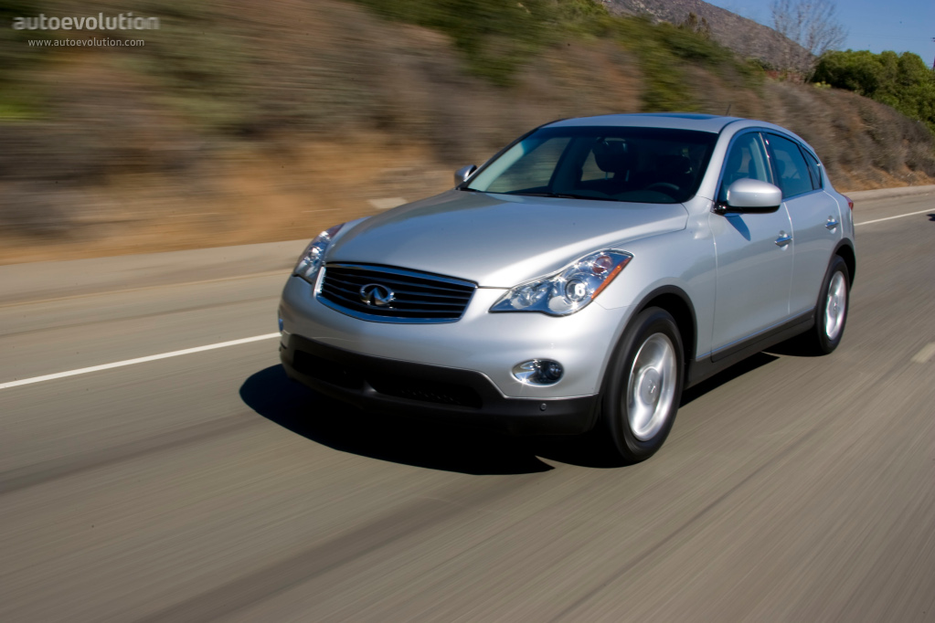 Wacky Mobile: 2011 Infiniti EX: New Pricing, Added Content and 7-Speed