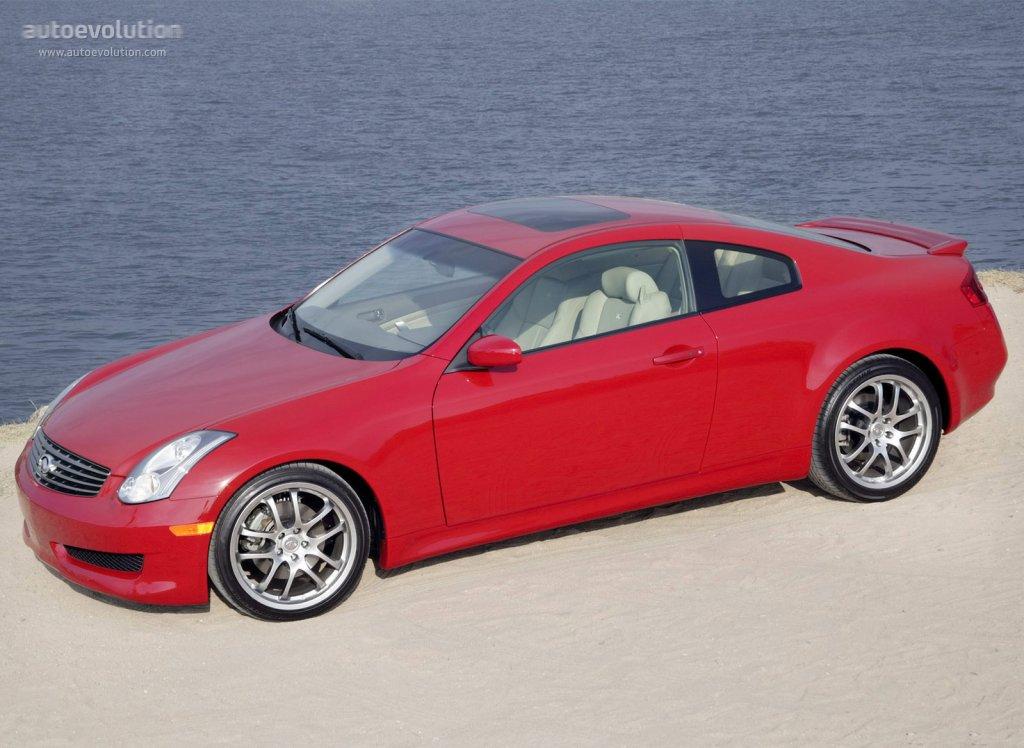 Infiniti G35 Coupe Specs 2002 2003 2004 2005 2006 2007 Autoevolution
