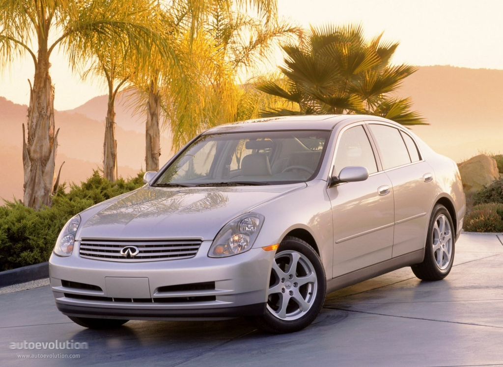 INFINITI G35 Sedan specs & photos - 2001, 2002, 2003, 2004 ...