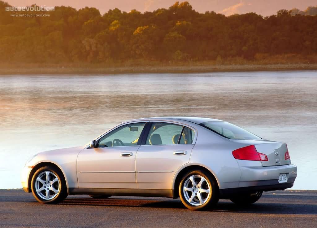 INFINITI G35 Sedan - 2001, 2002, 2003, 2004, 2005, 2006 - autoevolution