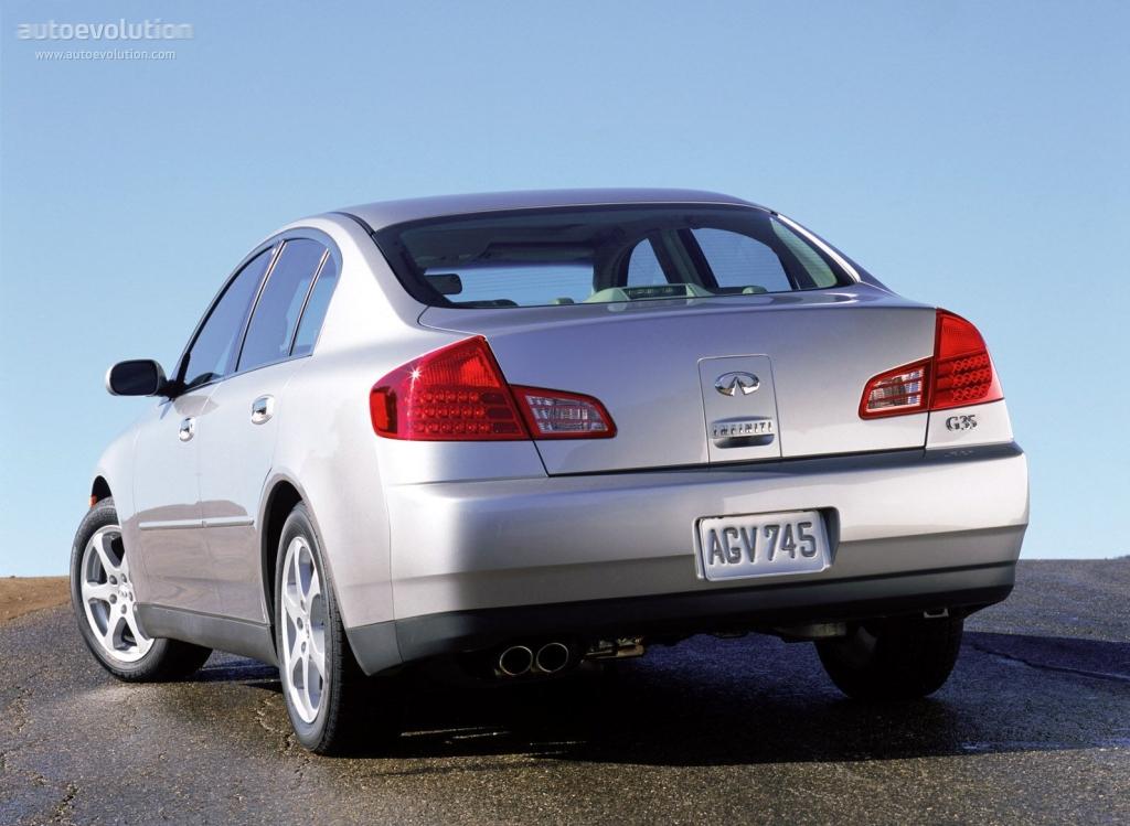 Infiniti G35 Sedan Specs Amp Photos 2001 2002 2003 2004