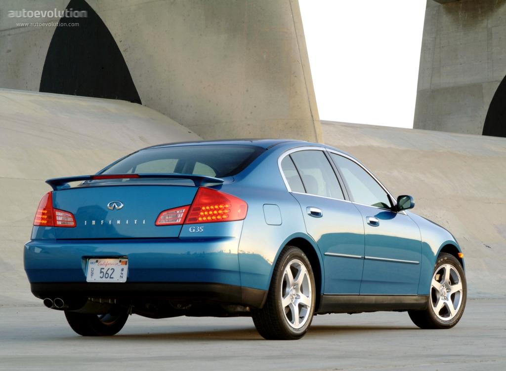 2005 infiniti g35 sedan specs
