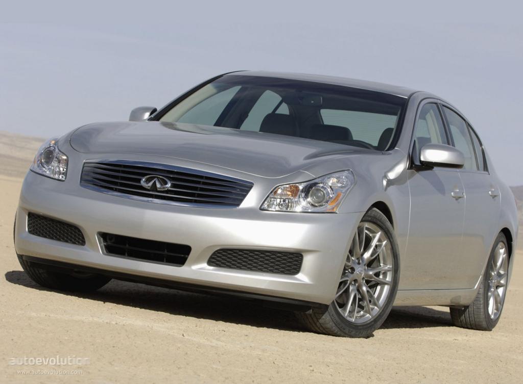 2008 infiniti g35 hp
