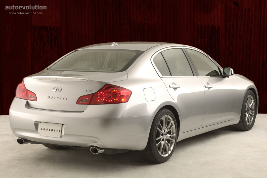 infiniti g35 sedan specs 2006 2007 2008 autoevolution. Black Bedroom Furniture Sets. Home Design Ideas