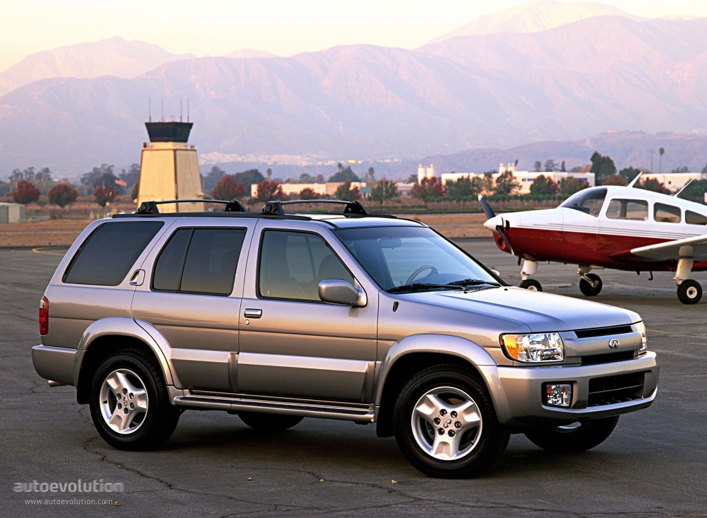 Infiniti Qx4 2001 2002 2003 Autoevolution