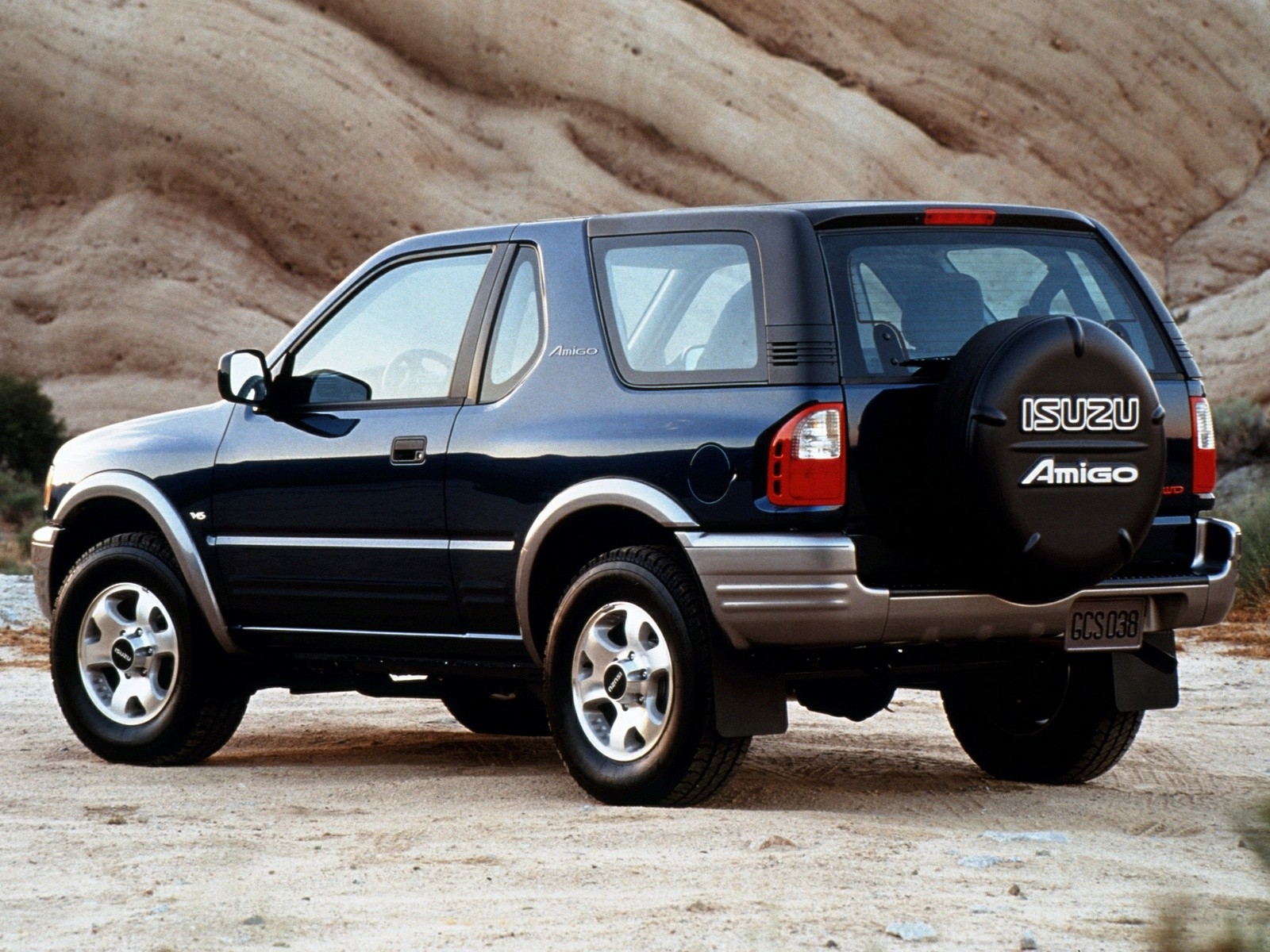 ISUZU Amigo 3 Doors specs & photos - 1997, 1998, 1999, 2000, 2001, 2002, 2003 - autoevolution