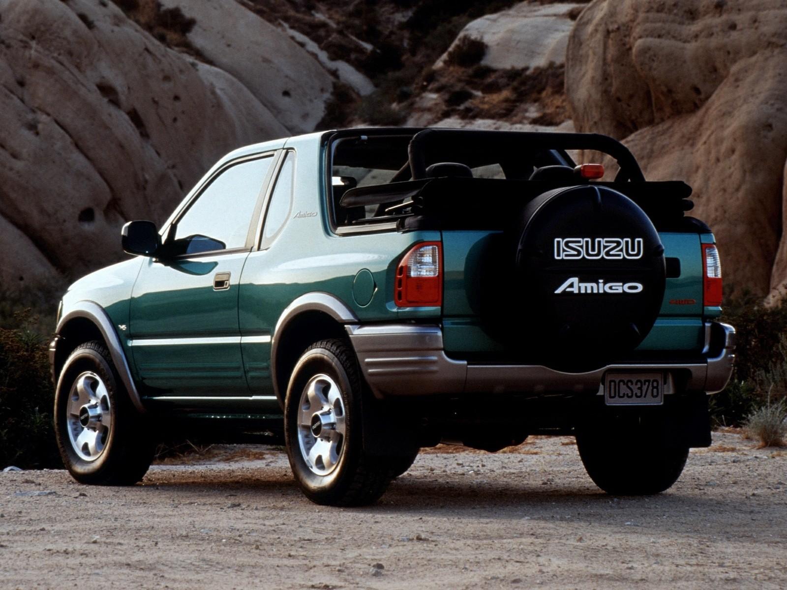 Isuzu Amigo Cabrio on 2001 Jeep S