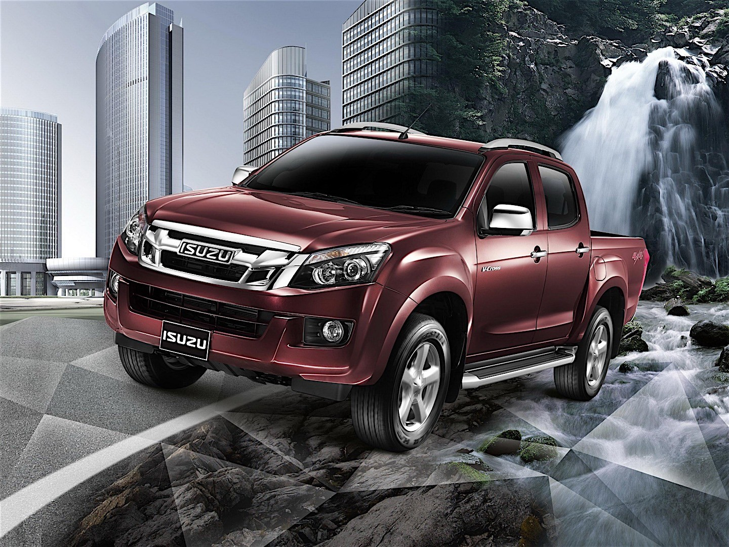 ISUZU D-Max Double Cab specs & photos - 2012, 2013, 2014 ...