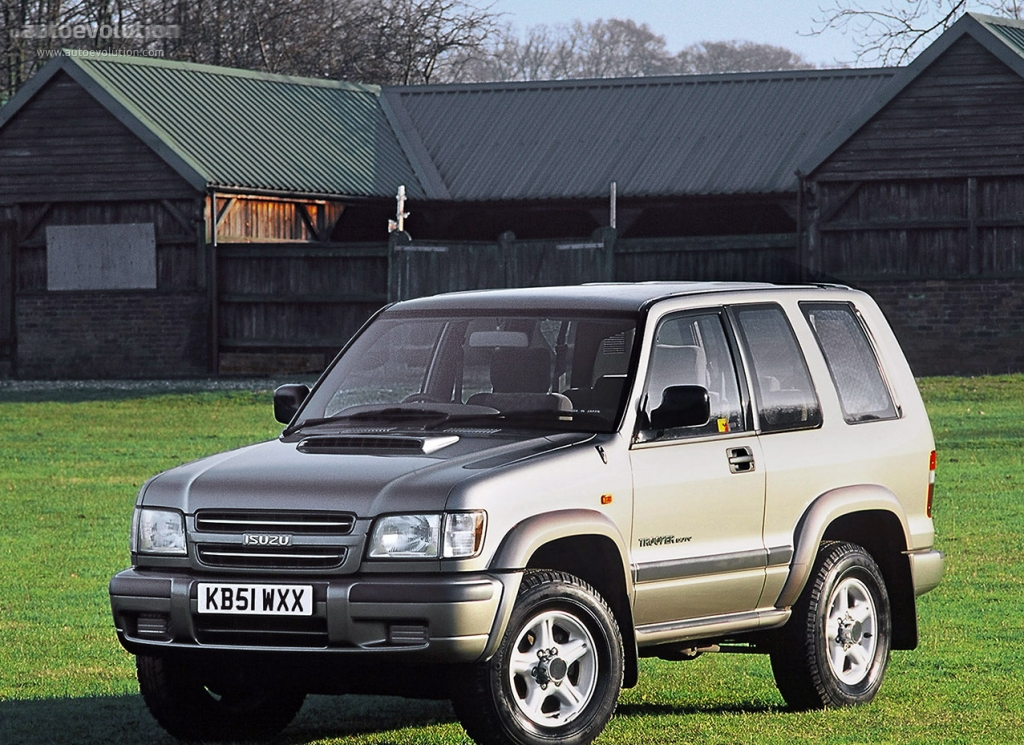 Isuzu Trooper 3 Doors Specs Photos 1998 1999 2000 2001 2002