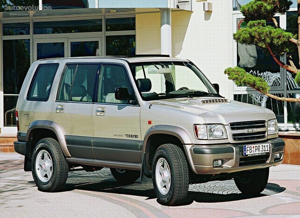 Isuzu Trooper 5 Doors Specs Photos 1998 1999 2000 2001 2002