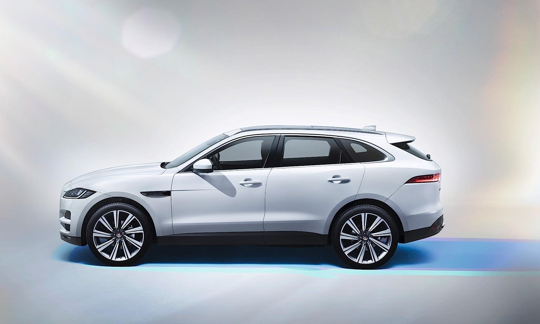 jaguar f pace 2015 2016 autoevolution. Black Bedroom Furniture Sets. Home Design Ideas