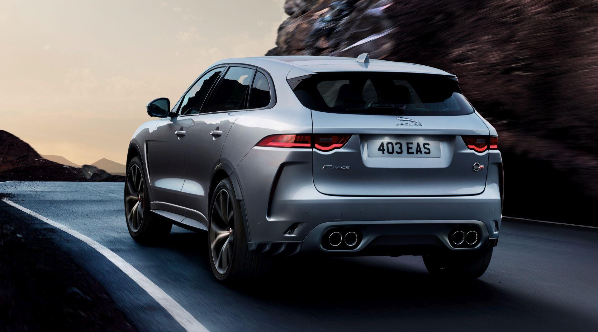 Jaguar F-pace Svr Specs  U0026 Photos - 2018  2019