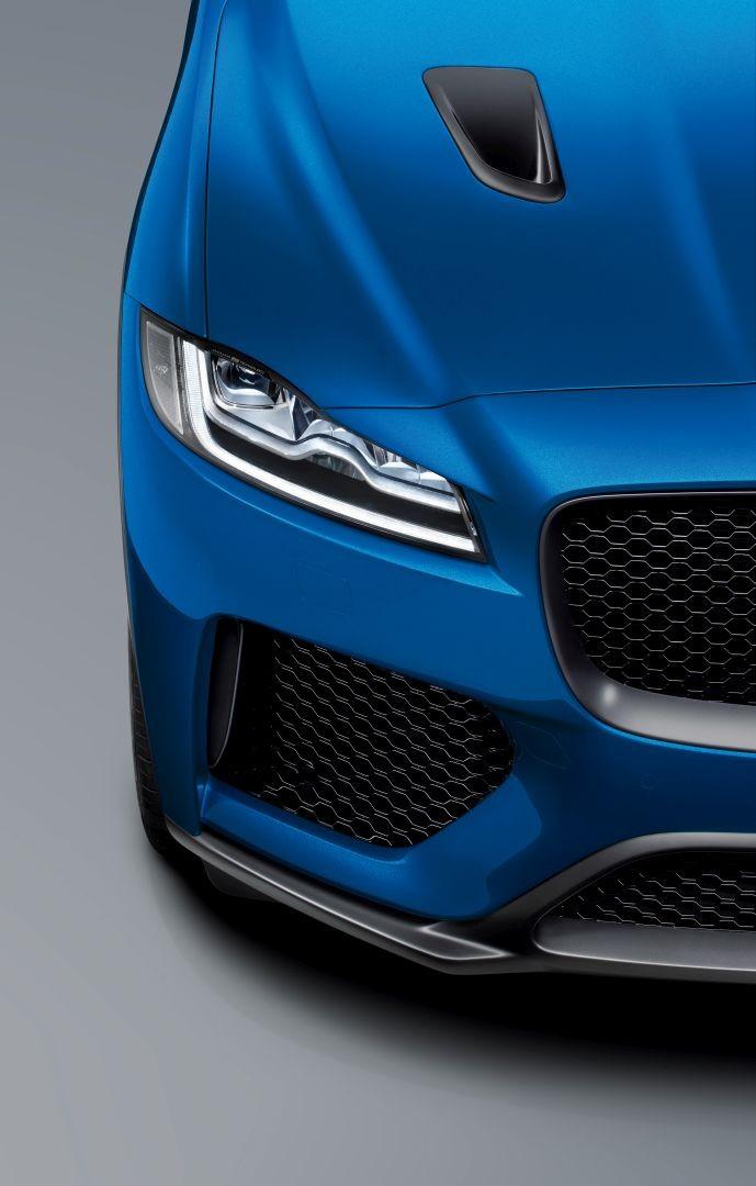 Jaguar F Pace Svr Specs Amp Photos 2018 2019 Autoevolution