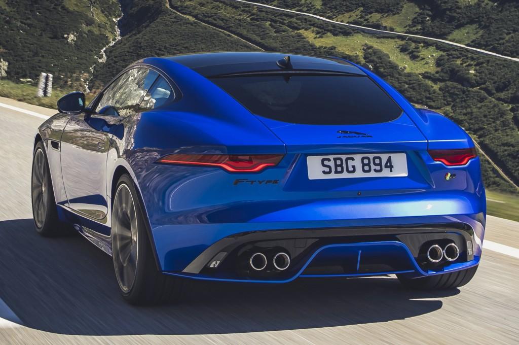 JAGUAR F-Type Coupe specs & photos - 2020 - autoevolution