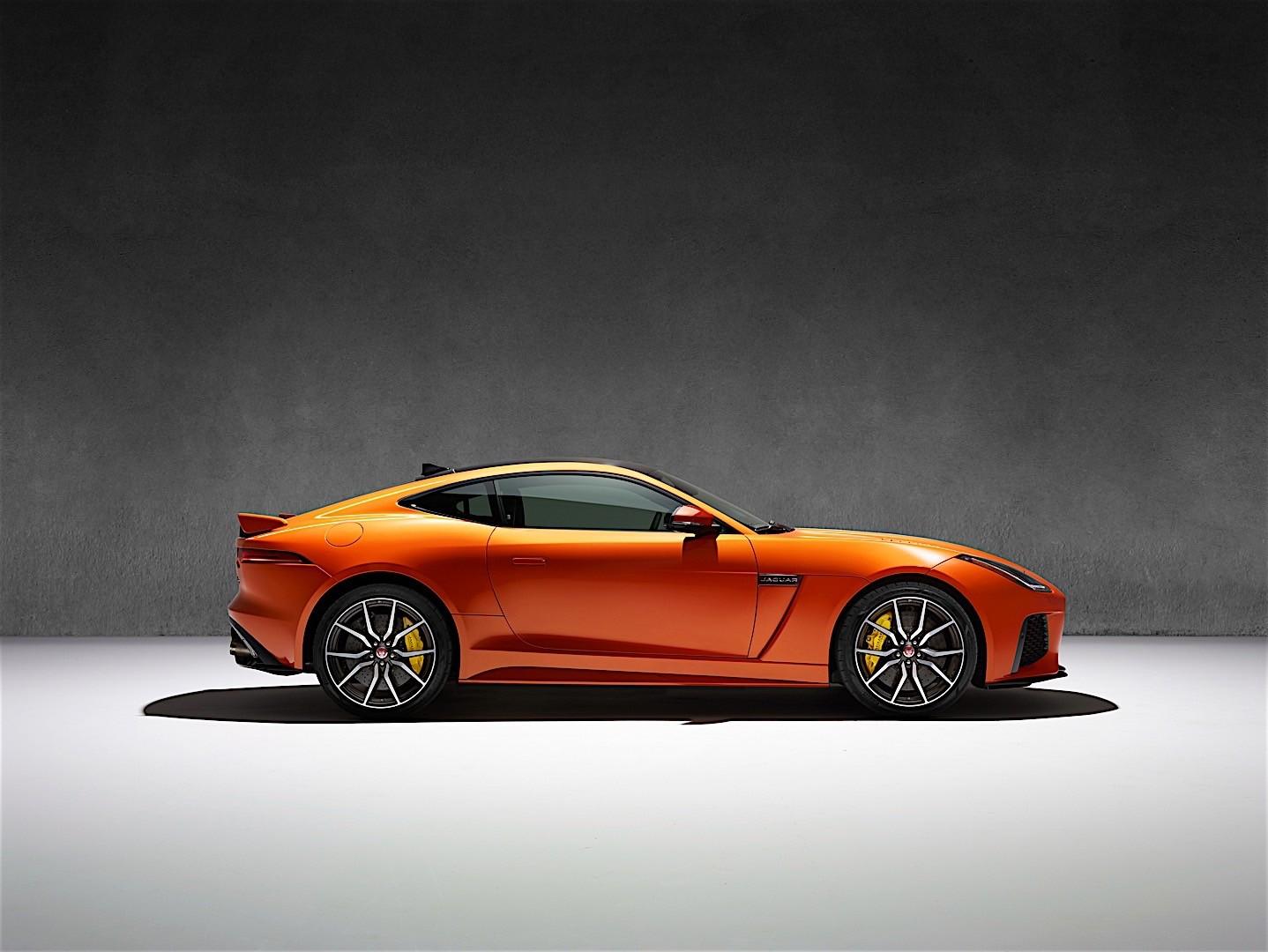 jaguar f type svr coupe 2016 autoevolution. Black Bedroom Furniture Sets. Home Design Ideas
