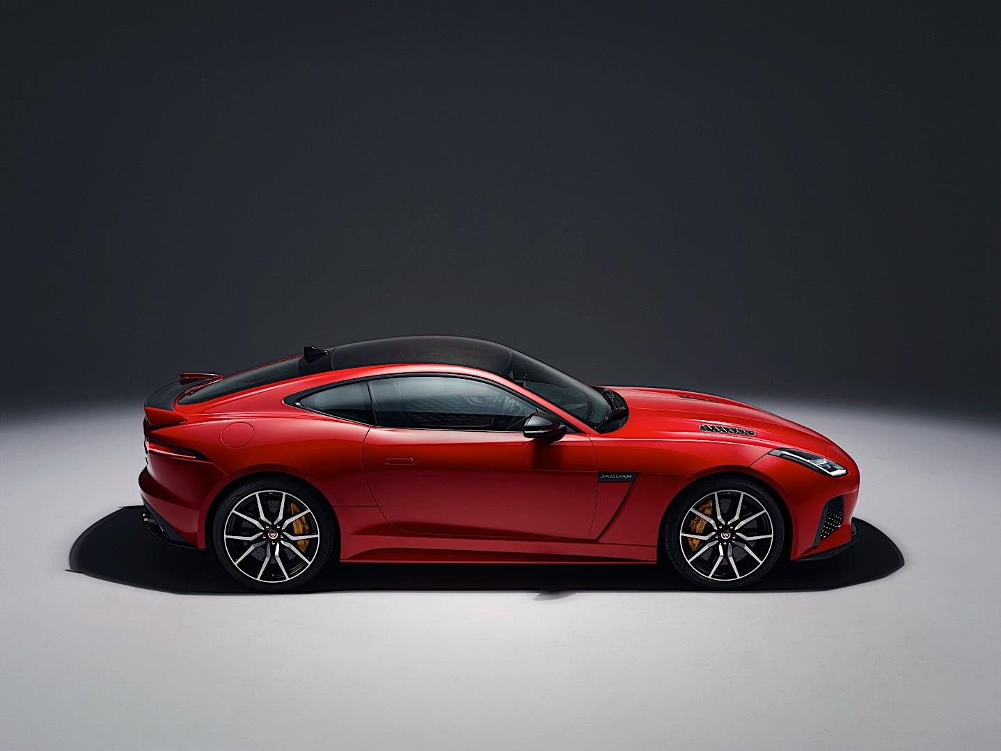 Amazing ... JAGUAR F Type SVR Coupe (2017   Present) ...