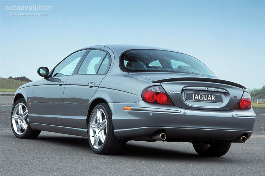 Jaguar S Type R 2002 2004