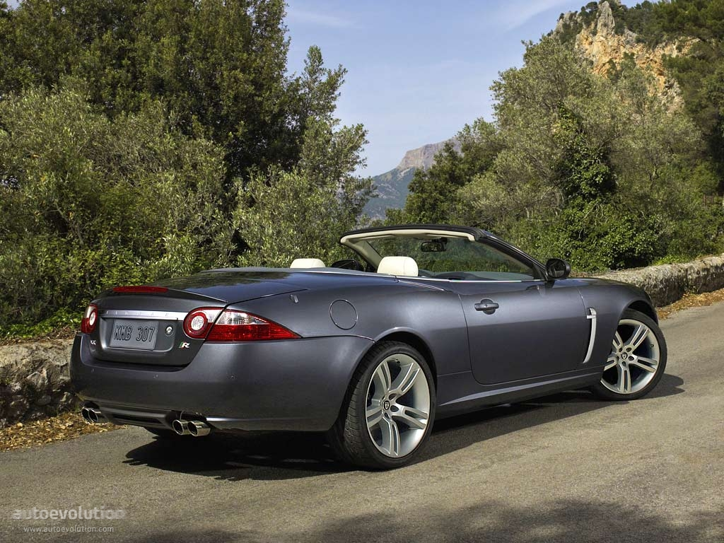 jaguar xkr convertible specs 2006 2007 2008 autoevolution. Black Bedroom Furniture Sets. Home Design Ideas