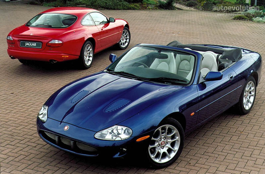 Jaguar Xkr Convertible 1998 2002