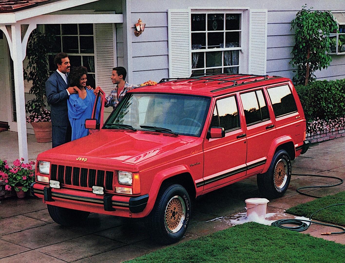 Jeep Cherokee on 1991 Jeep Cherokee