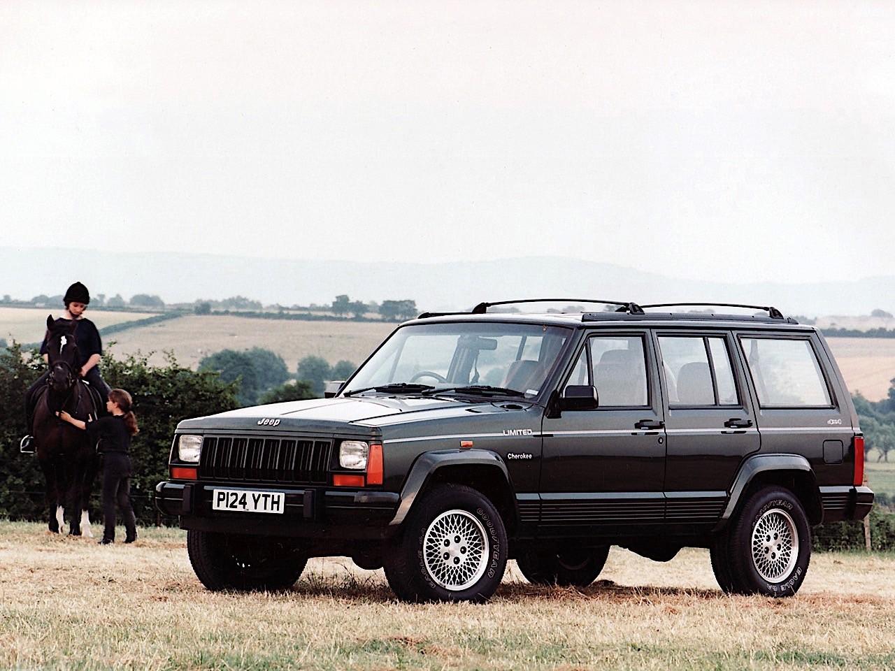JEEP Cherokee specs - 1984, 1985, 1986, 1987, 1988, 1989 ...