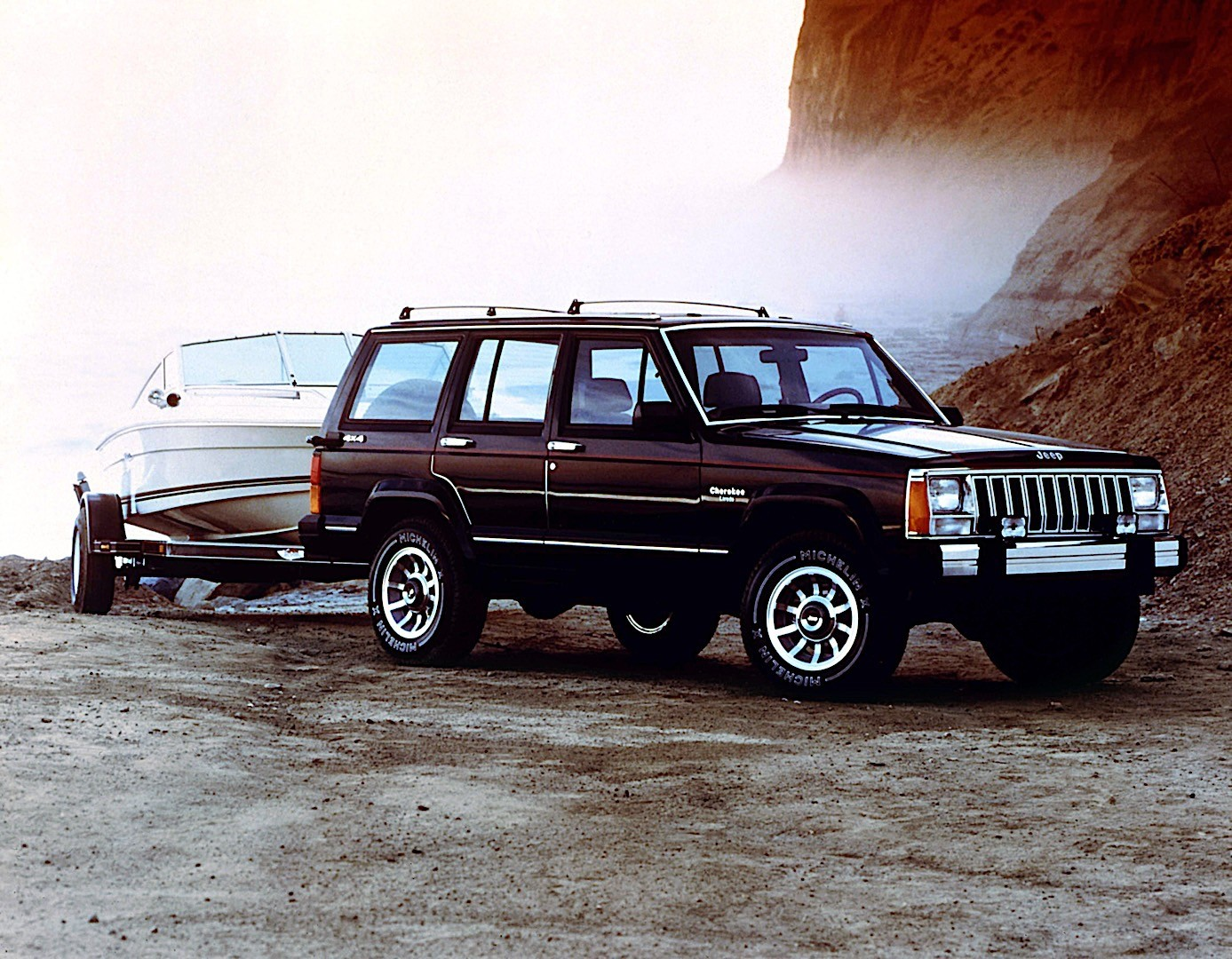 Jeep Cherokee on 1990 Jeep Cherokee Xj