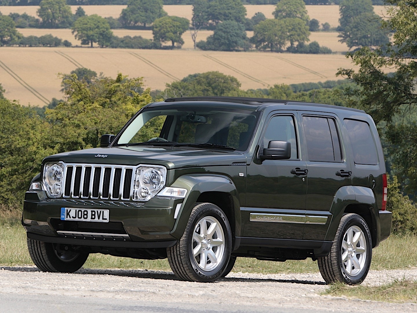 JEEP Cherokee/Liberty specs & photos - 2007, 2008, 2009 ...
