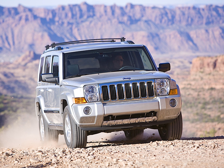 Jeep Wrangler Diesel >> JEEP Commander specs & photos - 2005, 2006, 2007 ...