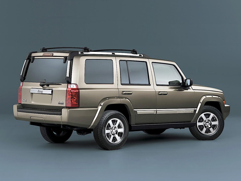 White Jeep Wagoneer >> JEEP Commander specs & photos - 2005, 2006, 2007 - autoevolution