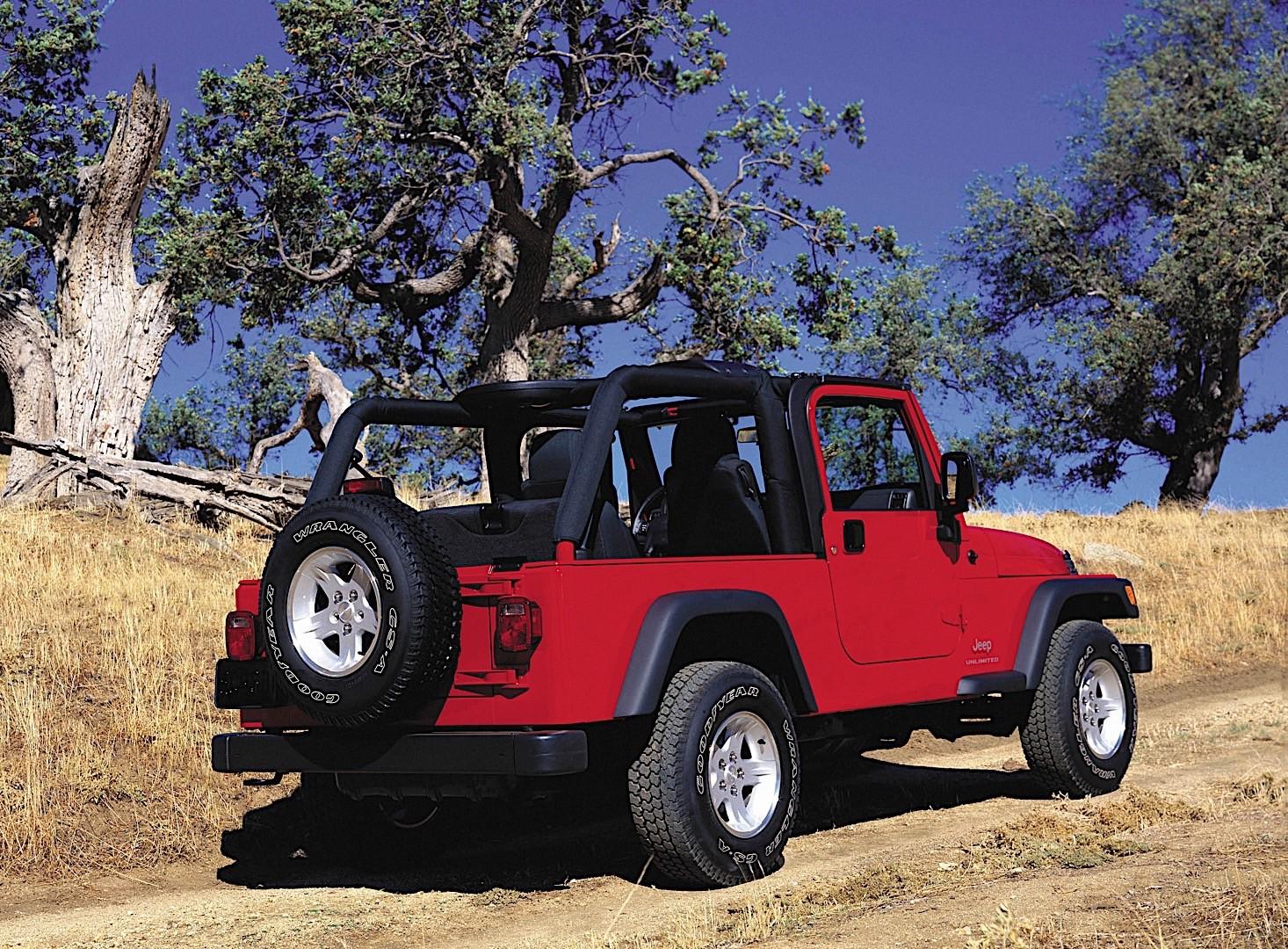 Grand Cherokee Altitude >> JEEP Wrangler specs & photos - 1996, 1997, 1998, 1999, 2000, 2001, 2002, 2003, 2004, 2005, 2006 ...