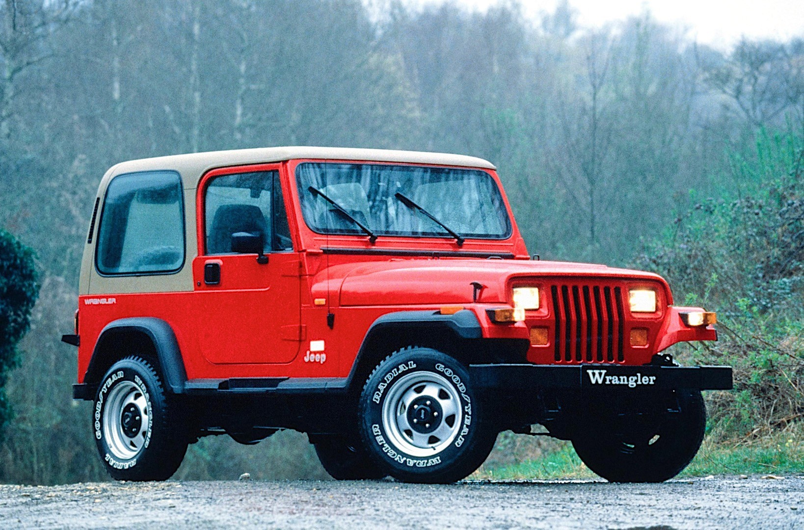 JEEP Wrangler specs & photos - 1987, 1988, 1989, 1990, 1991