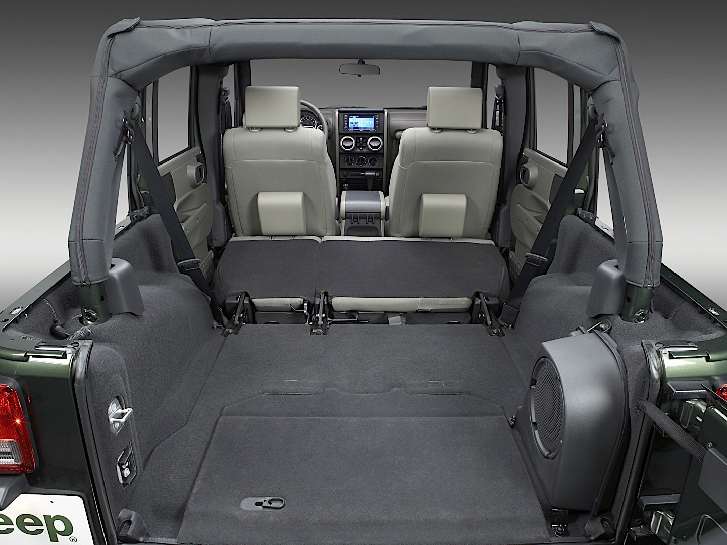 interior dimensions of jeep wrangler unlimited. Black Bedroom Furniture Sets. Home Design Ideas