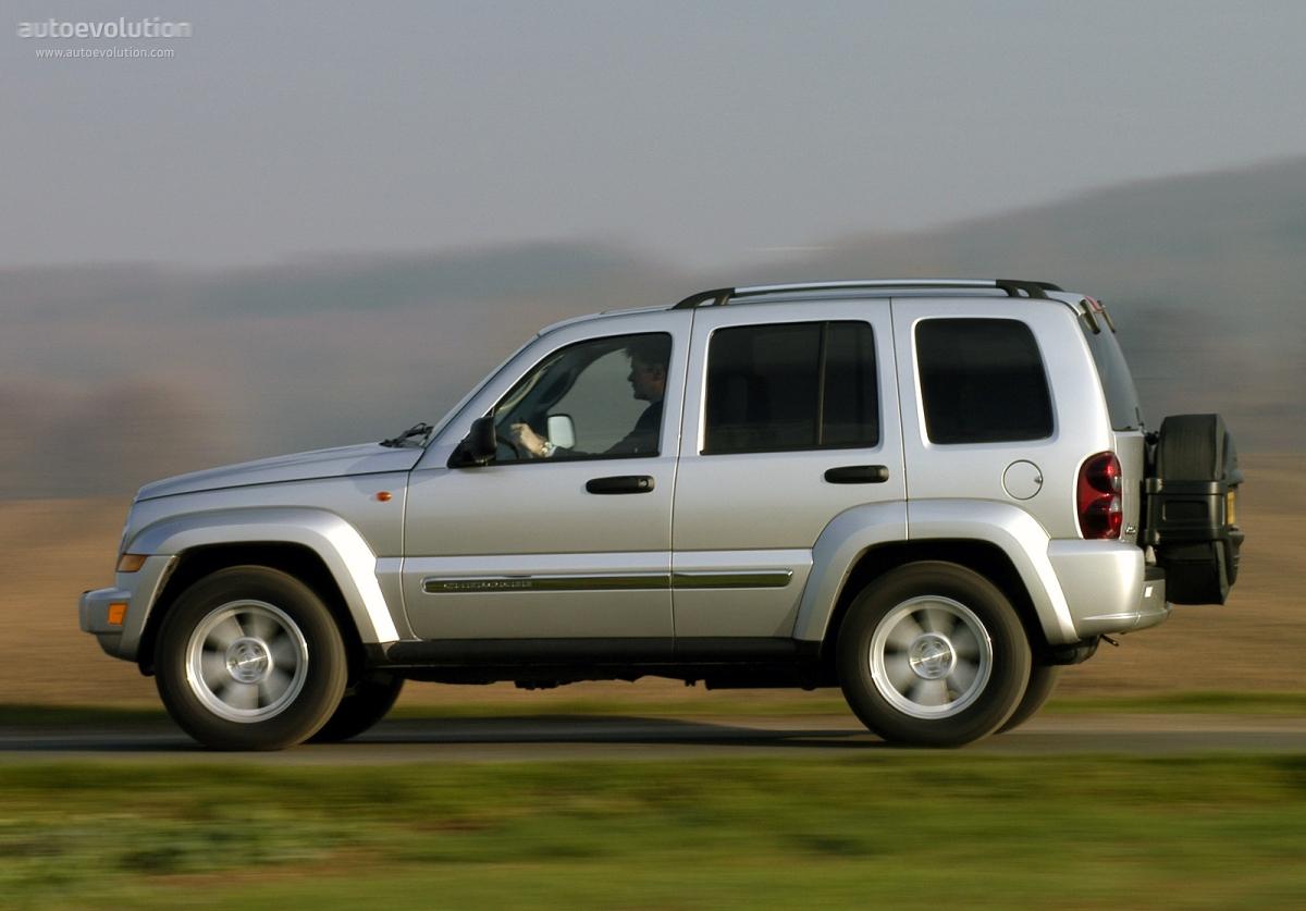 Jeep Cherokee Liberty 2005 2006 2007 Autoevolution