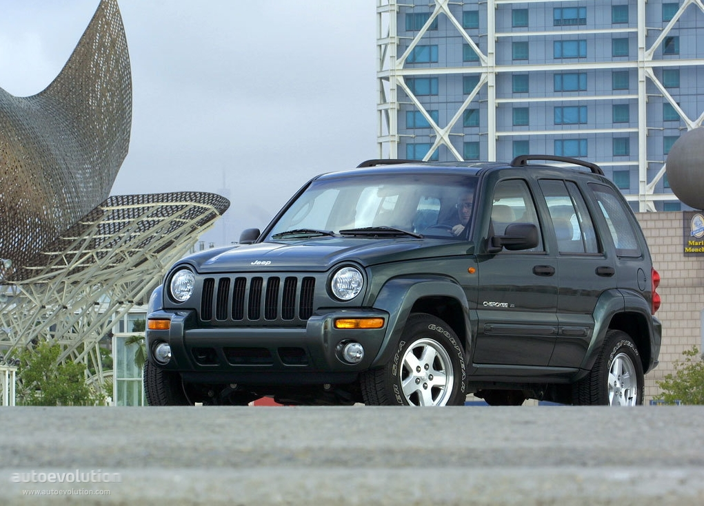 JEEP Cherokee/Liberty specs & photos - 2001, 2002, 2003 ...