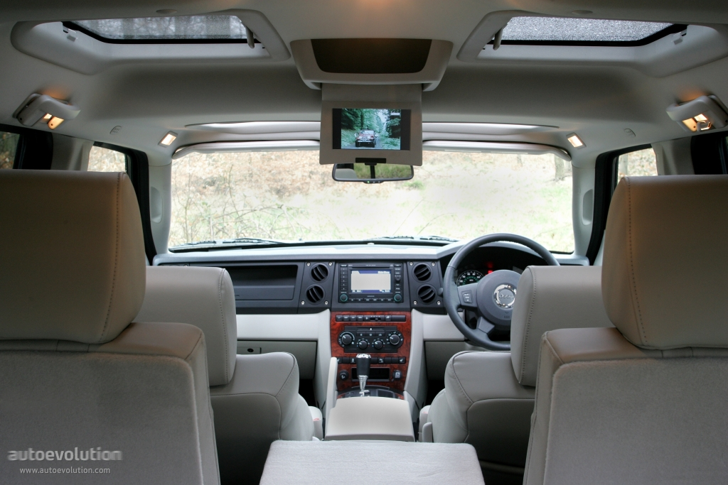 JEEP Commander specs - 2008, 2009, 2010 - autoevolution