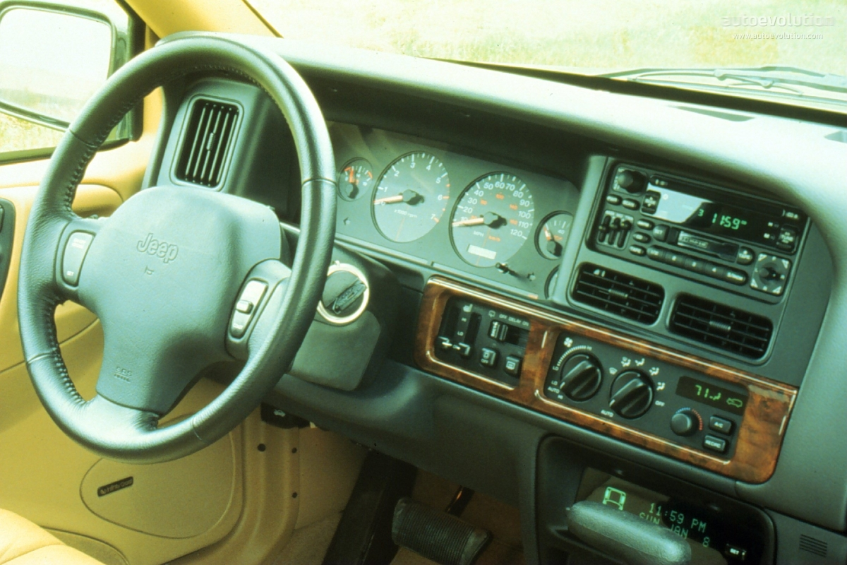 JEEP Grand Cherokee specs & photos - 1993, 1994, 1995 ...