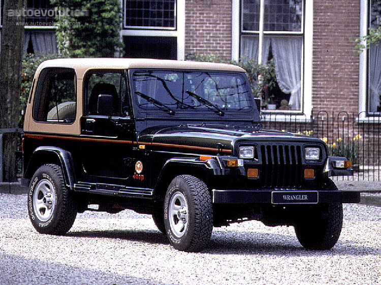 JEEP Wrangler specs & photos - 1987, 1988, 1989, 1990, 1991 ... on
