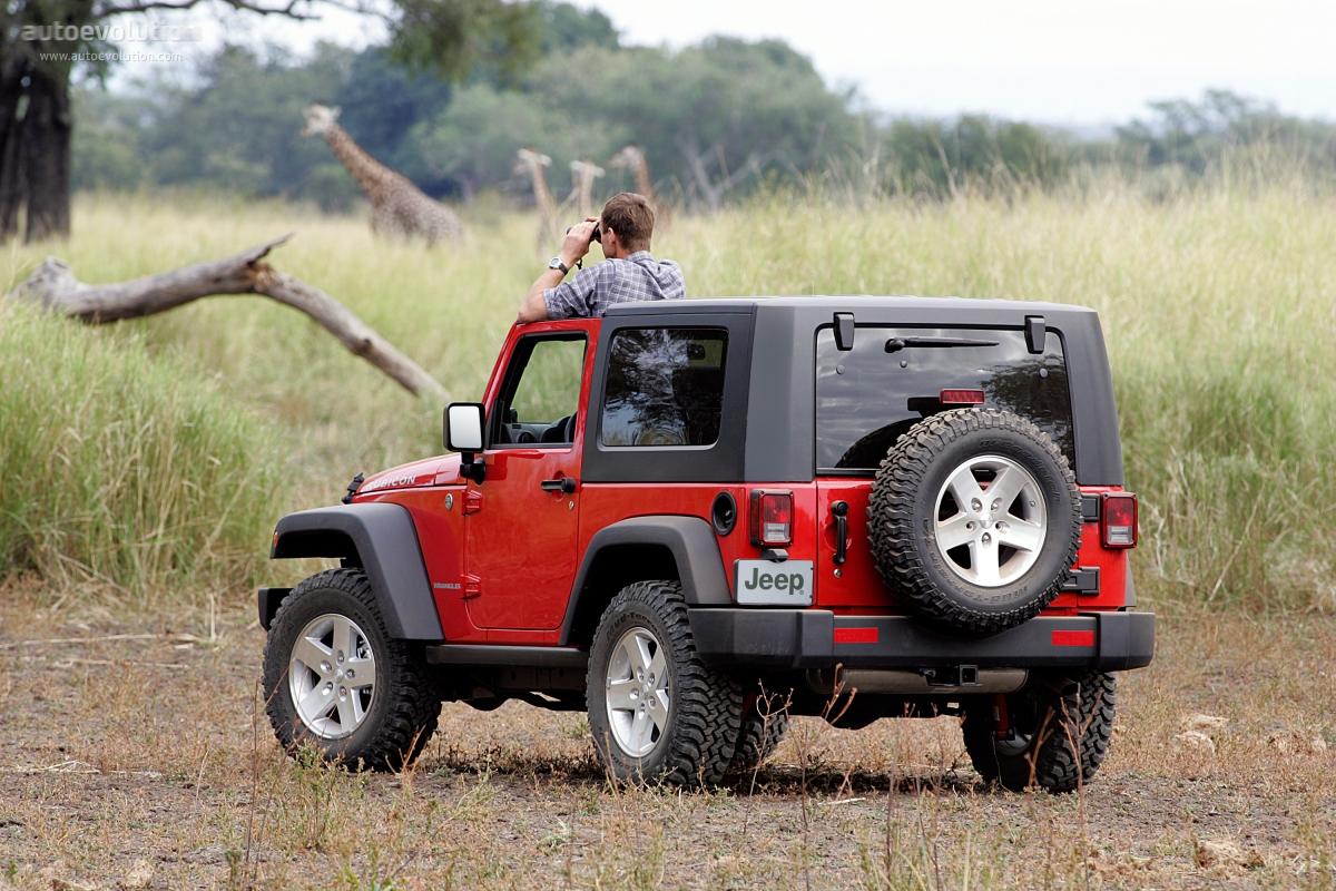 Jeep Wrangler Rubicon 2006 2007 2008 2009 2010 2011