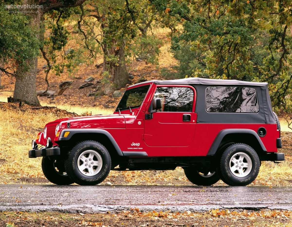JEEP Wrangler Unlimited (2004 - 2006) ...