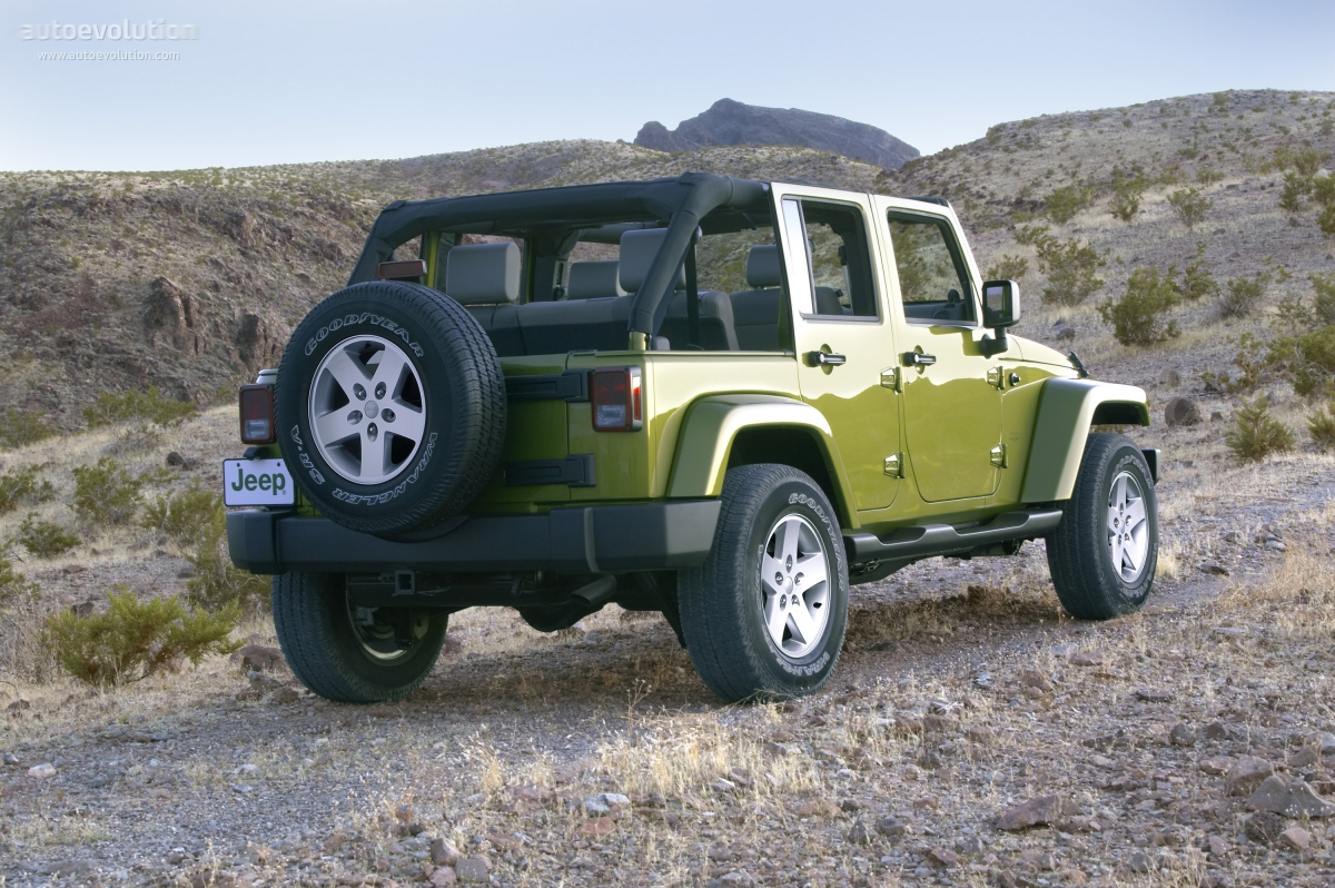Jeep Wrangler Unlimited Specs Amp Photos 2006 2007 2008