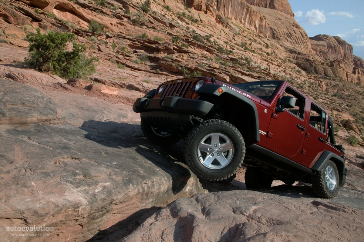 JEEP Wrangler Unlimited Rubicon specs  2006 2007 2008 2009