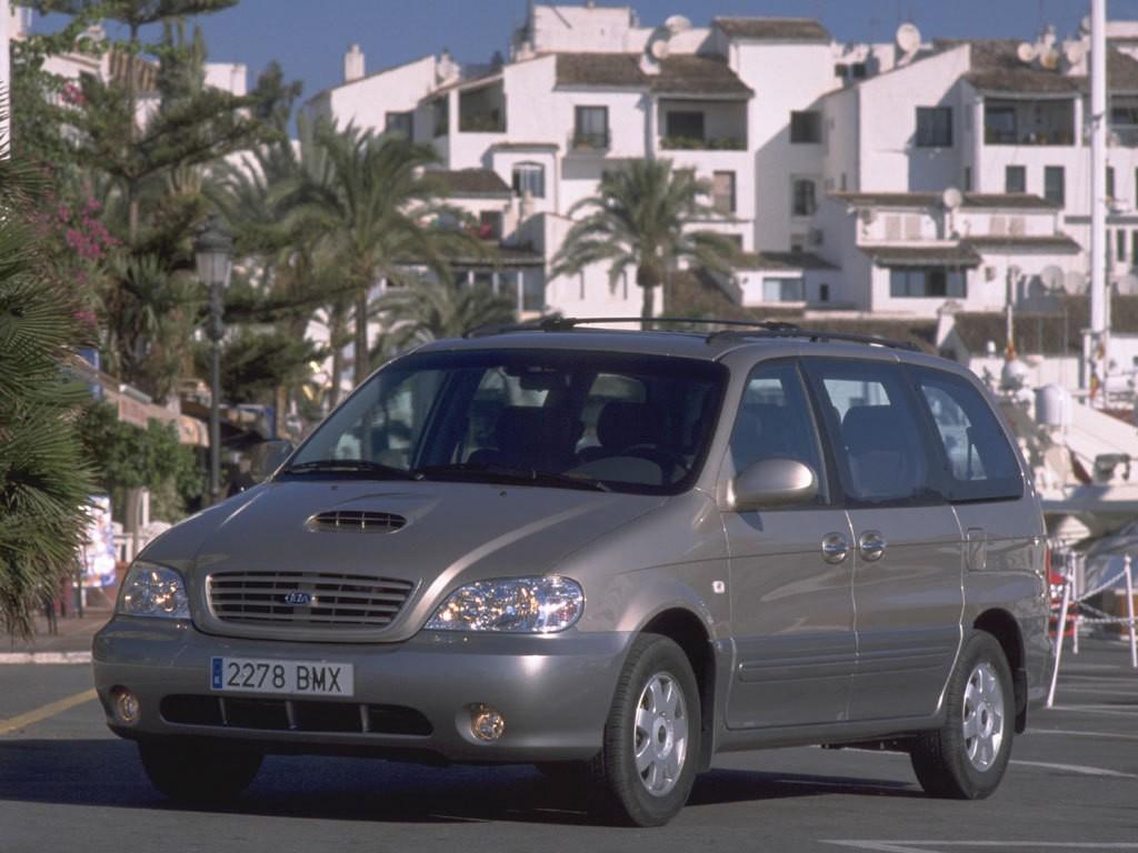 kia carnivalsedona specs amp photos 2002 2003 2004