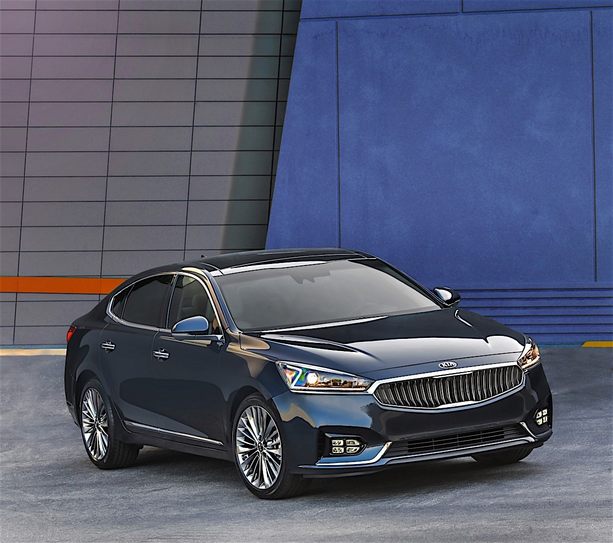 KIA K7 / Cadenza specs & photos - 2016, 2017, 2018, 2019 ...