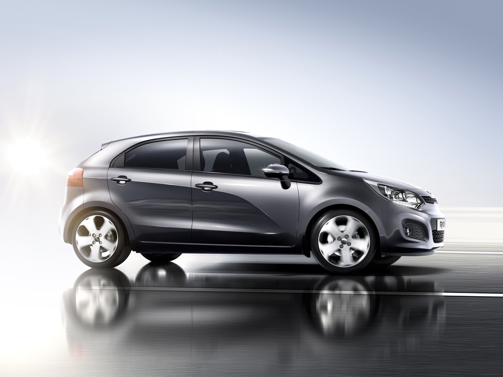 A solid clearance of the Kia Rio - now the car is capable of more