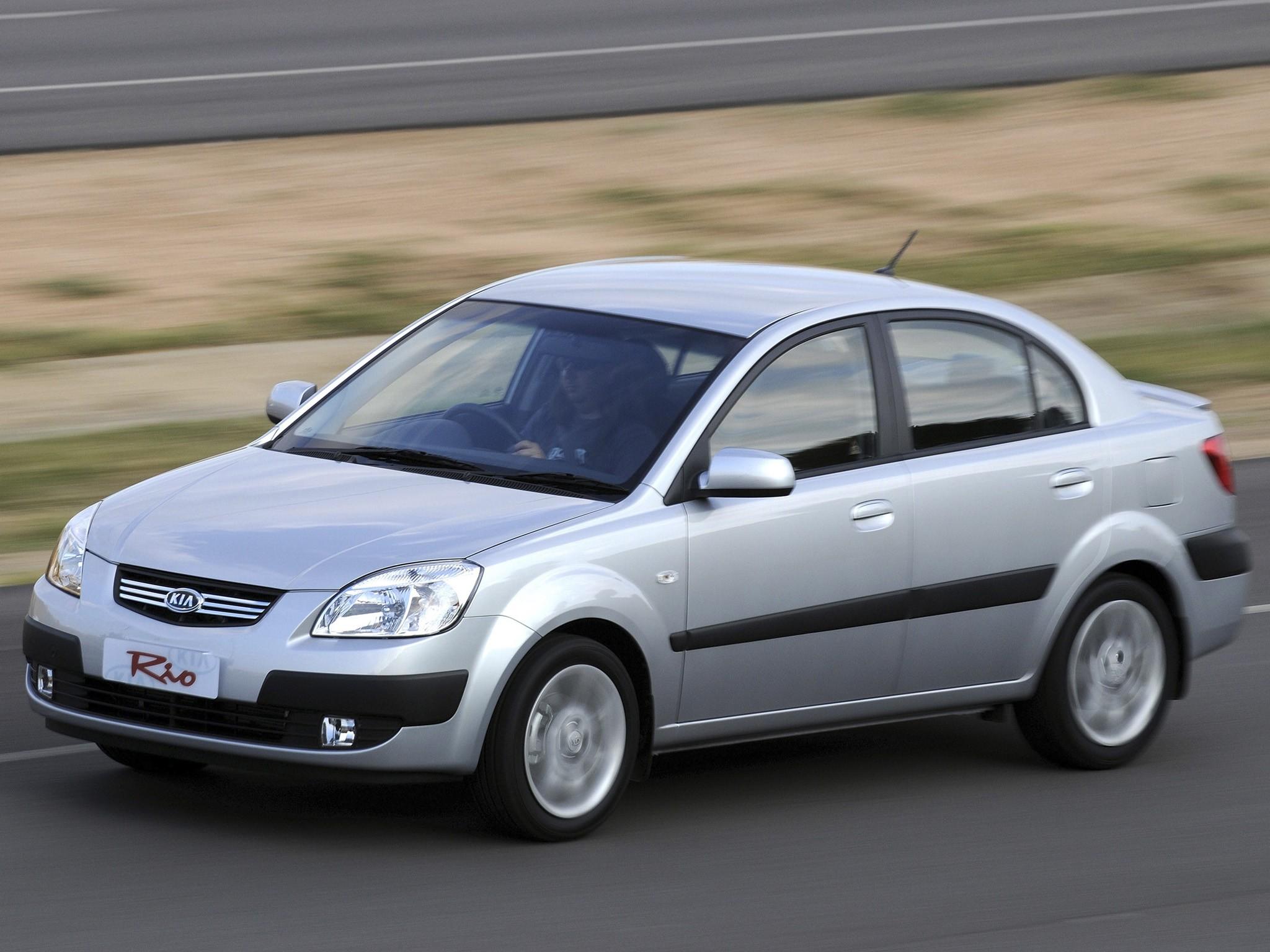 Kia Rio Sedan Specs Amp Photos 2009 2010 2011 Autoevolution