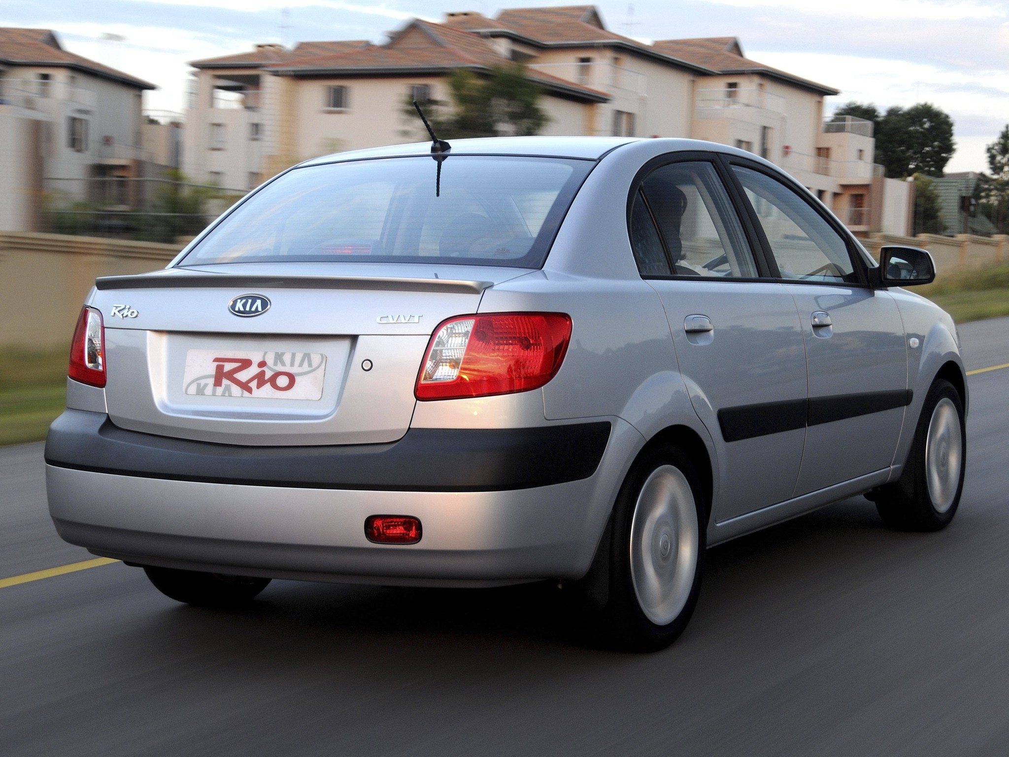 Gli Toyota 2018 >> KIA Rio Sedan specs & photos - 2009, 2010, 2011 ...