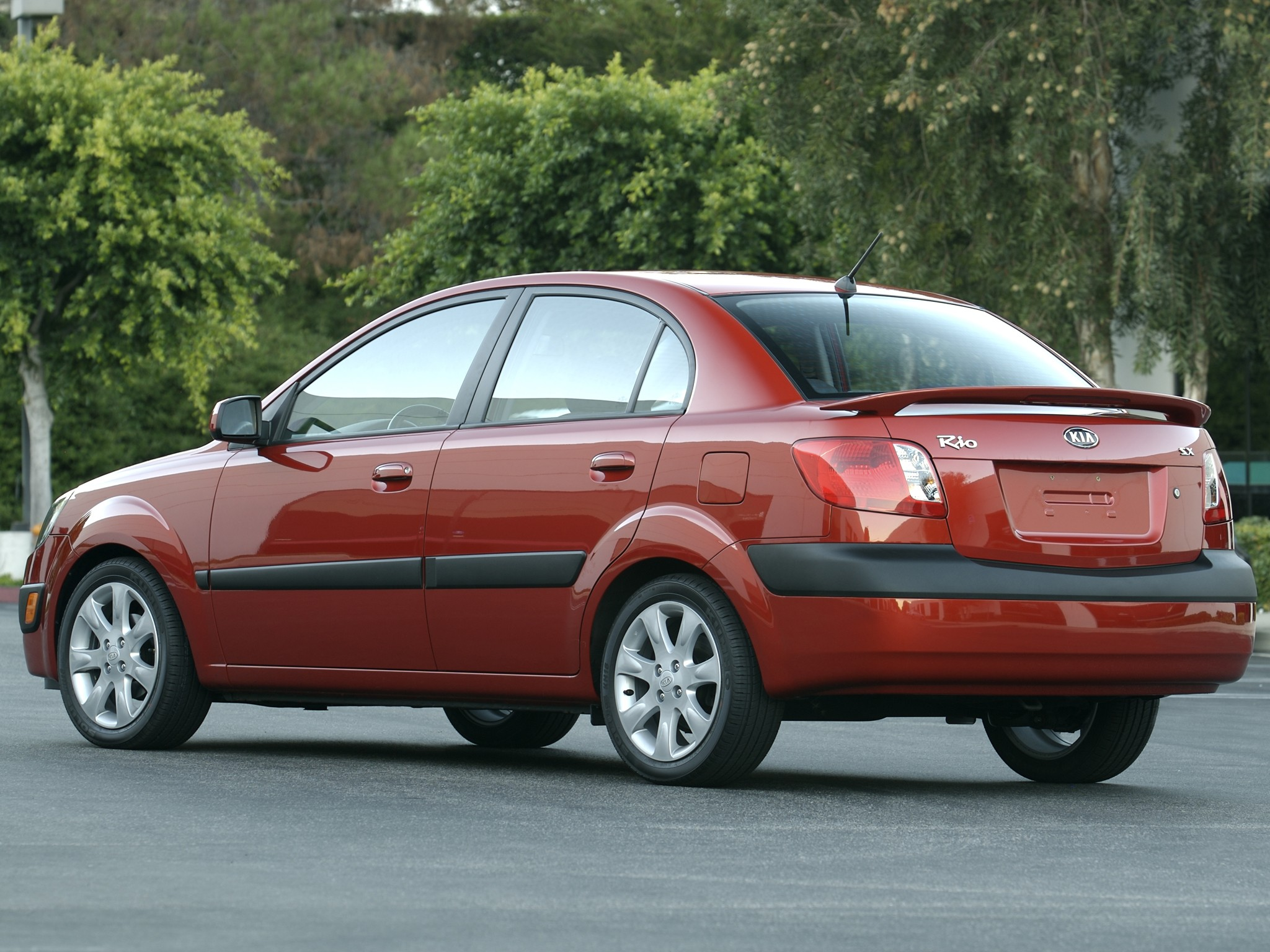kia rio sedan specs  u0026 photos - 2009  2010  2011