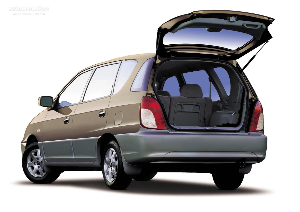 KIA Carens specs & photos - 2000, 2001, 2002 - autoevolution